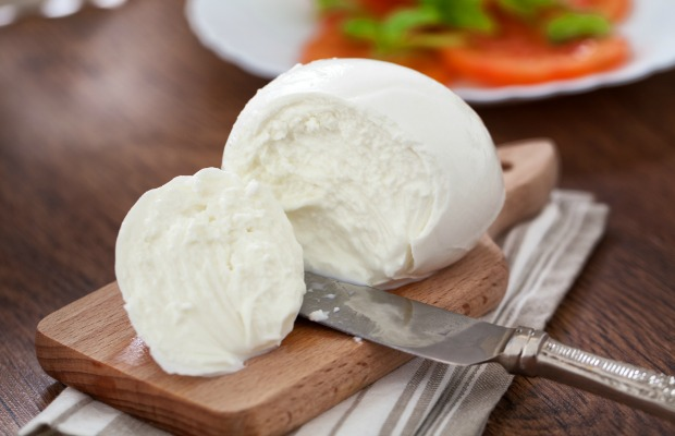 Buffalo mozzarella on board Costa Cruises