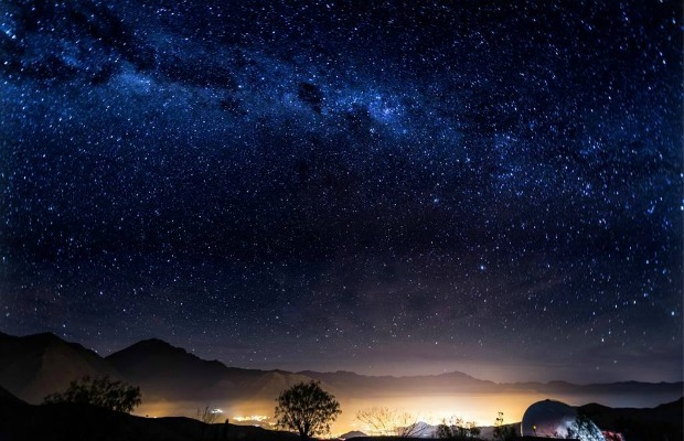 A view of the stars from Elqui Domos in Pisco Elqui, Chile