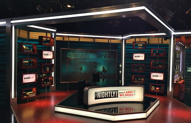 Nightly Show Set/Laura Motta