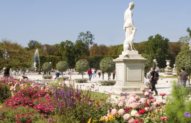Tuileries Garden Paris, France