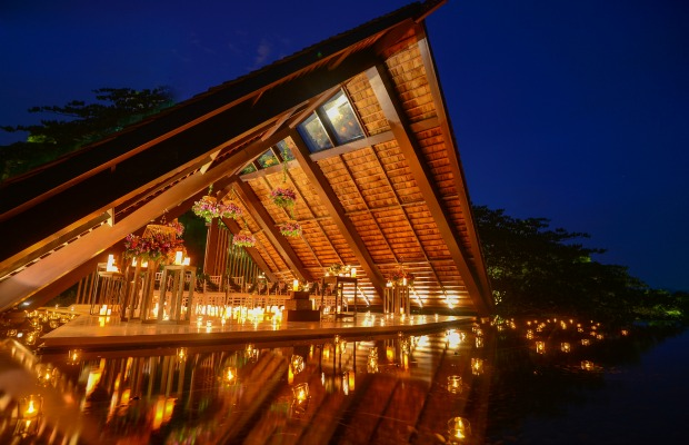 Wedding chapel at Anantara Phuket Layan in Thailand