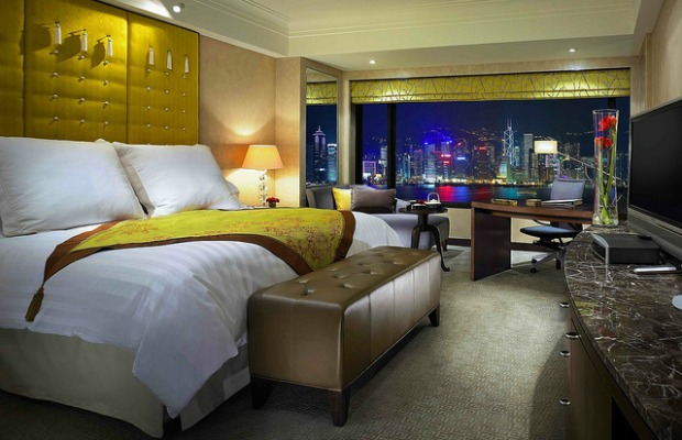 Harborview room at InterContinental Hong Kong