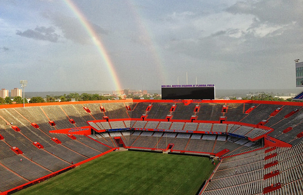 Ben Hill Griffin Stadium, Gainesville/flickr/Andrew Piazza_