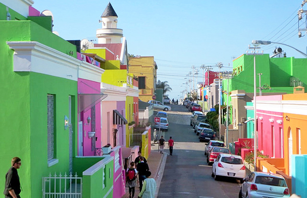 Bo-Kaap Neighborhood, Cape Town/flickr/David Stanley