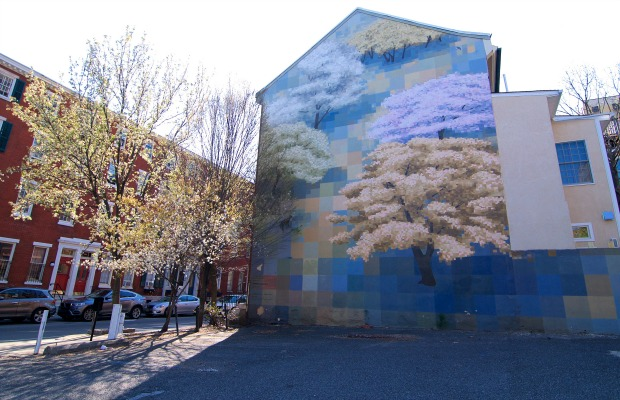 A mural in Philadelphia, Pennsylvania