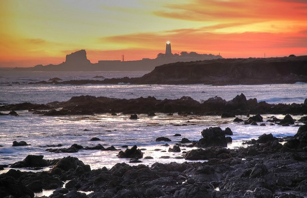 Piedras Blancas in California