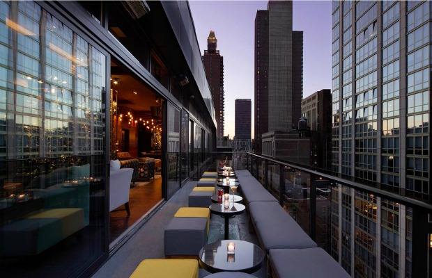 Rooftop space at Gansevoort Park Avenue