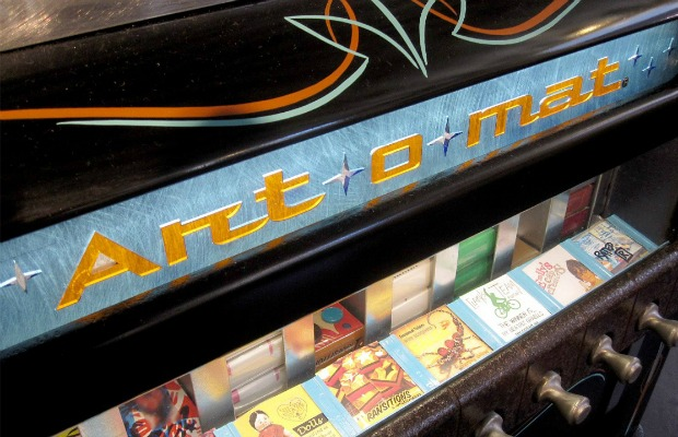 An Art-o-mat machine