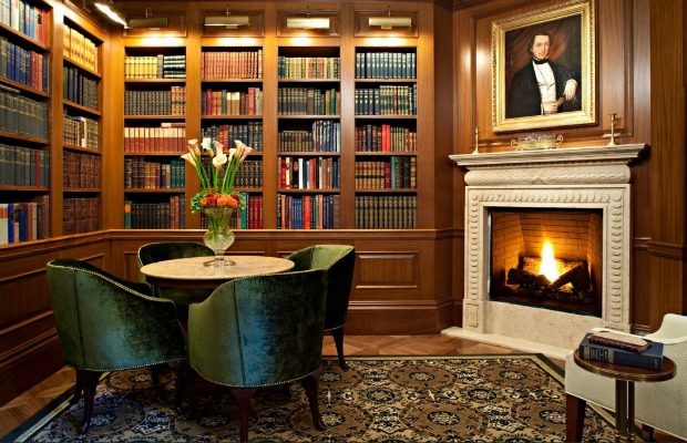 Book Room at The Jefferson, Washington D.C.
