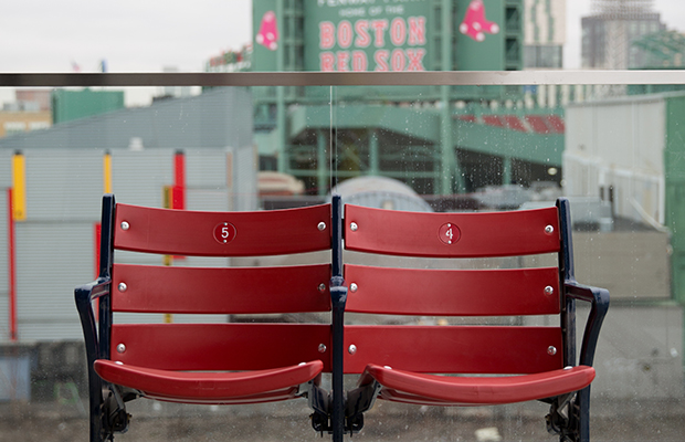 Fenway Park Suite Terrace/Hotel Commonwealth/Kiera Slye Photography