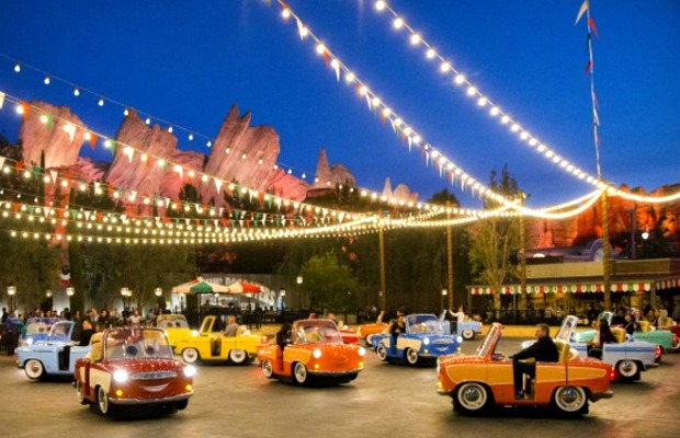 Luigi's Rollickin' Roadsters at Disney California Adventure in Anaheim
