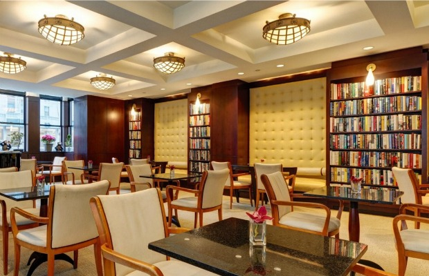 Reading Room at Library Hotel in New York City