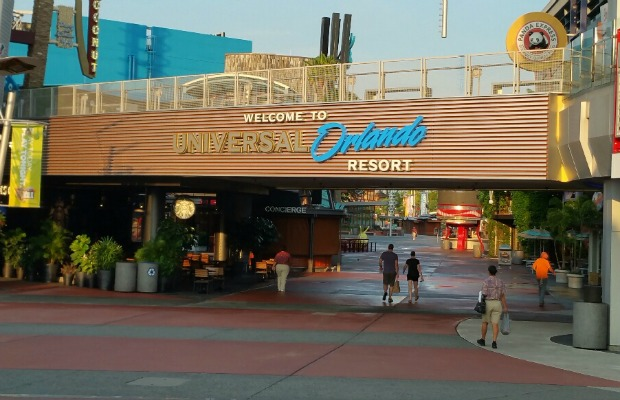 Universal Orlando Resort entrance in Florida