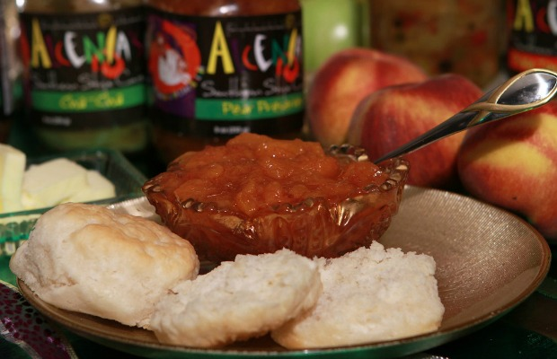 Apple butter at Alcenia's in Memphis, Tennessee