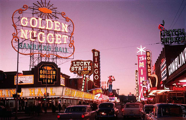 Fremont Street 1958/The Mob Museum Facebook/courtesy of Vintage Las Vegas