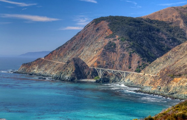 Bixby Creek Bridge in Big Sur, California