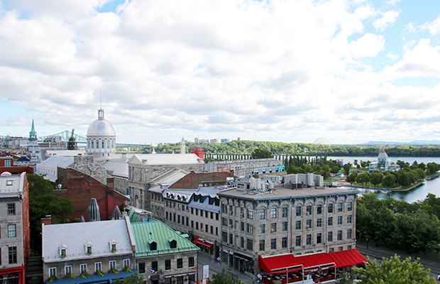 View from Old Montreal/Tyra Sutak