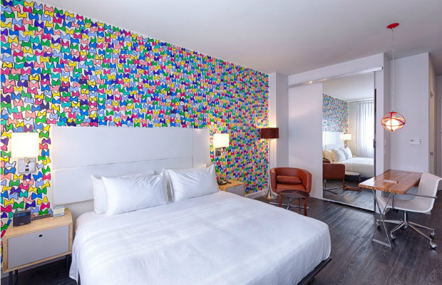 Guestroom/Nu Hotel Brooklyn in New York