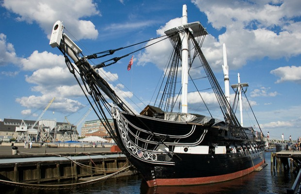 USS Constitution in Boston, Massachusetts
