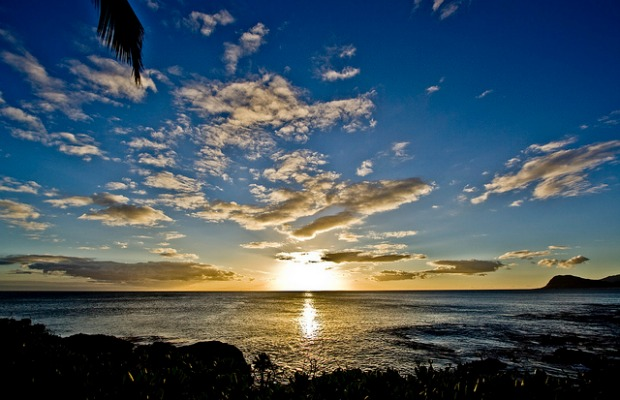 Sunset on the Big Island of Hawaii