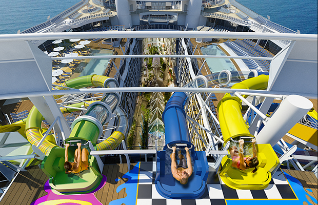 Slides, Harmony of the Seas/Royal Caribbean
