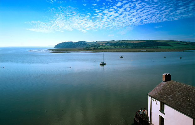 Dylan Thomas boathouse , Swansea, Wales