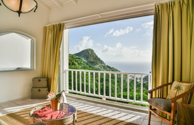 Suite at Queen's Gardens Resort & Spa on Saba