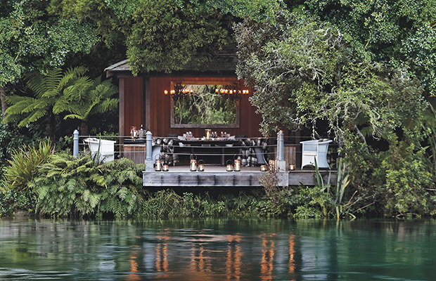 Jetty Pavilion/Huka Lodge