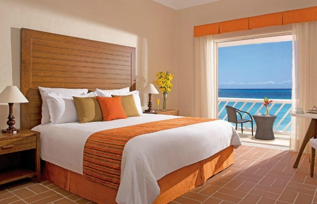 Guestroom at Sunscapes Sabor Cozumel in Mexico