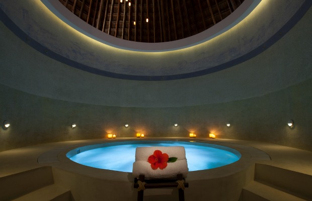 Spa at Mahekal Beach Resort in Mexico