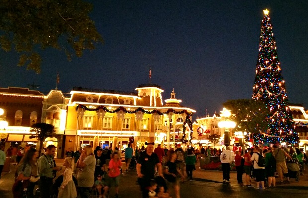 Town Square at the Magic Kingdom in Orlando, Florida