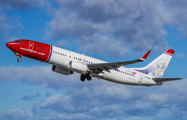 Norwegian Air Shuttle Plane