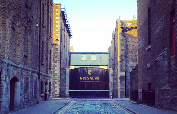 Guinness Factory in Ireland