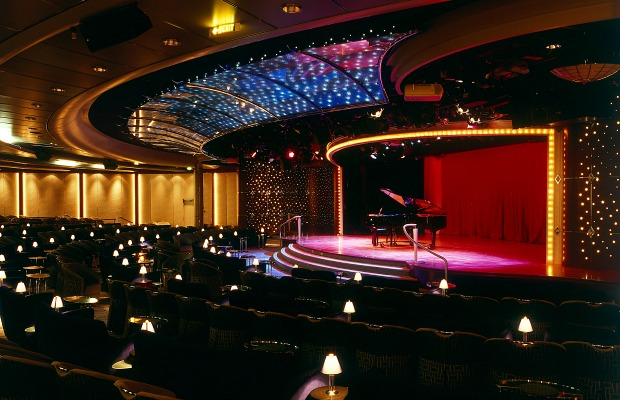 Theater Onboard the Crystal Serenity/Crystal Cruises