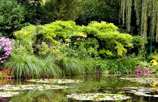 Giverny, France, garden