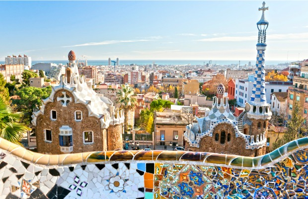 Barcelona, Spain, Parc Guell