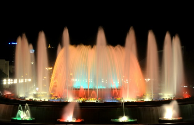 Barcelona, Spain, The Magic Fountain