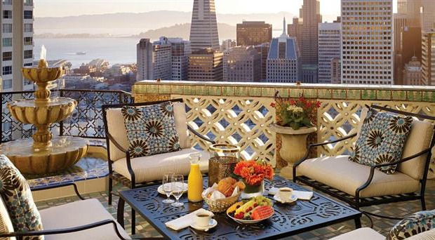 San Francisco, California, The Fairmont San Francisco Hotel, Penthouse Suite