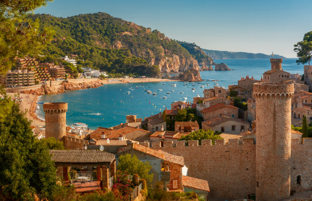 Costa Brava, Spain, Tossa de Mar