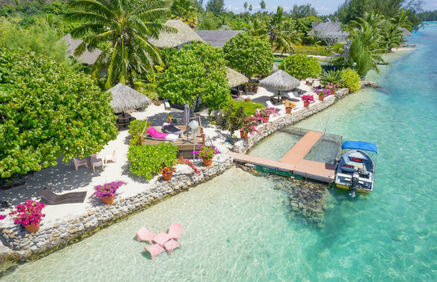 Tahiti, Taoahere Beach House
