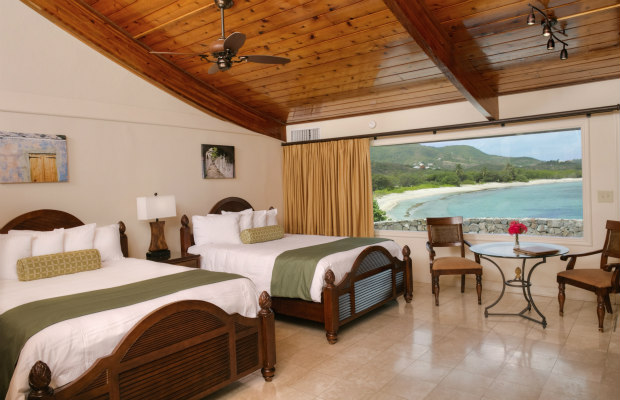 St. Croix, U.S. Virgin Islands, The Buccaneer Deluxe Oceanfront room