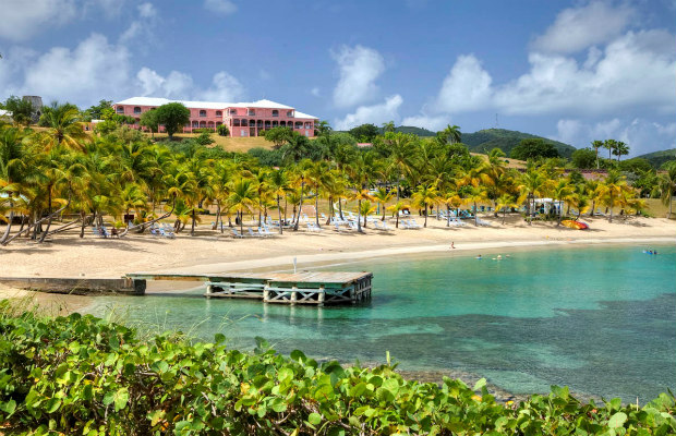 St. Croix, U.S. Virgin Islands, The Buccaneer Mermaid Beach