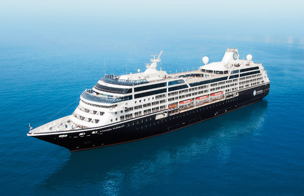 Azamara Pursuit, Azamara, cruise ship exterior