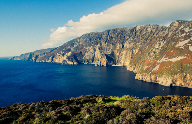 Slieve League/flickr/Tony Webster