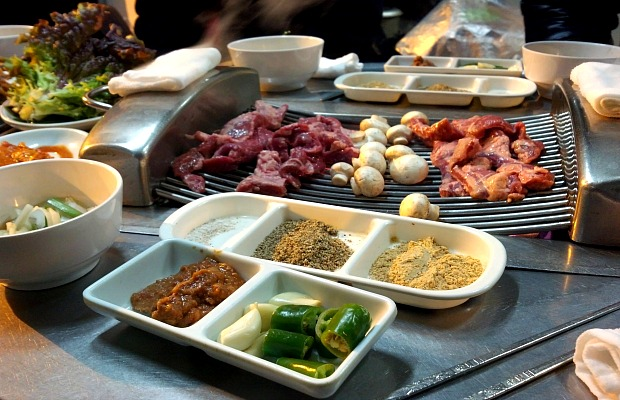 barbecue - Seoul street Food