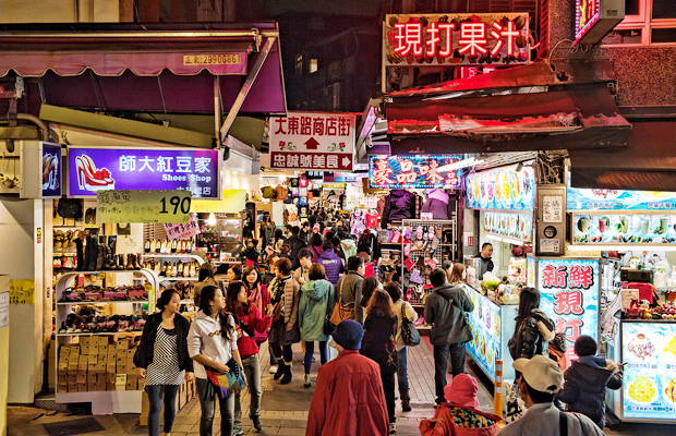 shilin night market in taipei taiwan, a budget and cheap travel destination