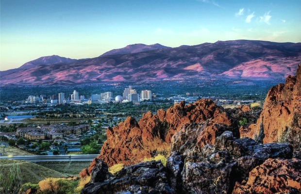 Reno Tahoe, Nevada, a budget and cheap travel destination