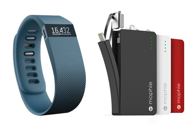 fitbit and mophie, must-have travel accesories 2
