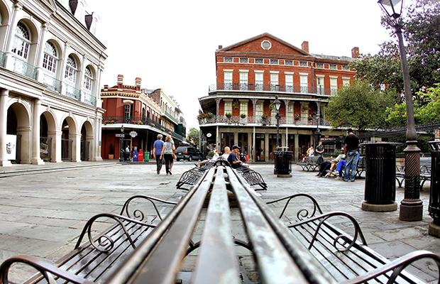 Jackson Square New Orleans/flickr/Phil Roeder
