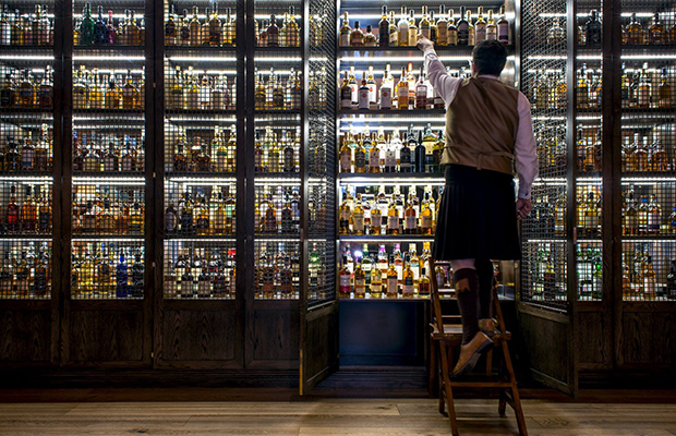 Scotch Whisky Cabinet/Facebook/The Balmoral